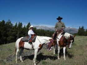 horseback riding rides big horn mountains buffalo ten sleep wy