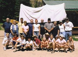 Kerr Family Reunions Big Horn Mountains Lodges Wyoming