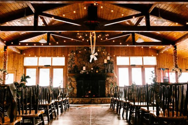 Wedding Venues Wyoming Meadowlark Ski Area Winter