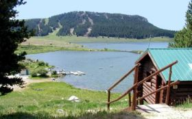 Meadowlark Lake Lodge Cabins Ten Sleep Buffalo WY