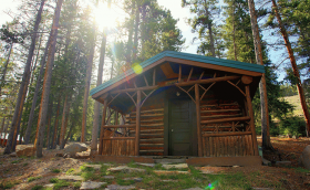 South fork Mountain Lodge Cabins Big Horn Mountains WY